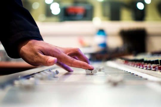 Rock Techno WordPress Music Studio